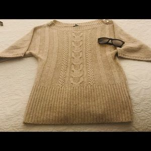 WHBM Camel-colored Sweater